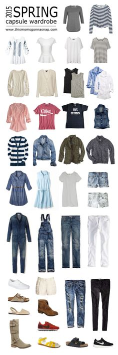 2015 spring capsule wardrobe