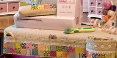 sewing mat,  love the idea of covering my sewing table like this!