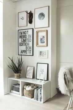 Simple gallery wall design  #gallerywall