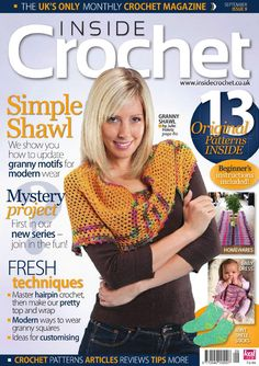 REVISTA Inside Crochet  Issue 9 2010 - 轻描淡写 - 轻描淡写
