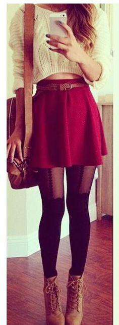 Cute flared skirt