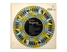 Erik Nitsche record album design 1951. An Andrés by NewDocuments