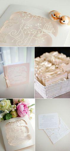 laser cut garden wedding invitation Creative Wedding Stationery From Mr