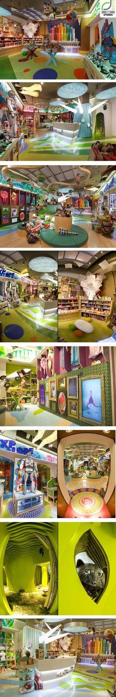 Jou Jou toy store by Watts Architects, Salt Lake City – Utah....