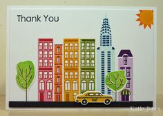Crafting with Katie: New York Thank You