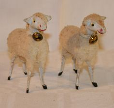 Sheeps with bells.