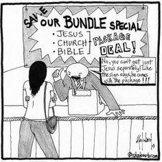 """Jesus Bundle"" (by nakedpastor David Hayward)"