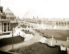 1904 World's Fair in Forest Park #STLPRS Photo; Missouri History Museum