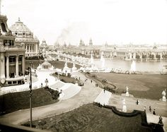 1904 World's Fair in Forest Park #STLPRS Photo; Missouri History Museum
