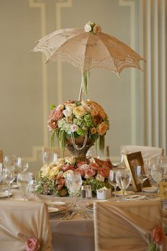 umbrella centerpiece!