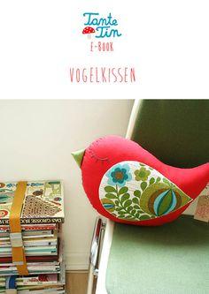 E-Book Vogelkissen von Tante Tin auf DaWanda.com