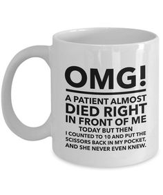 Gift Mug for: Psych Mug Nurse mug Funny Nurse Survival Kit medical themed gifts nurses mug nurses gifts IVF Doctor Gifts Coffee Mug Quotes, Coffee Humor, Coffee Mugs, Coffee Lovers, Coffee Enema, Coffee Art, Coffee Sayings, Coffee Club, Drip Coffee