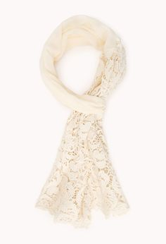 Boho Babe Crochet Scarf | FOREVER21 #Scarf #F21Crush #Lace