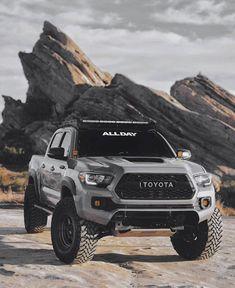 Toyota Tacoma 4x4, Tacoma Truck, Toyota Hilux, Toyota Tundra, Trd Pro Tacoma, Lifted Tacoma, Overland Tacoma, Lifted Ford, Toyota Autos
