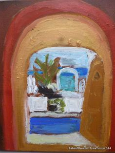 Doors of Dream acryl on Canvas Tyna Tunis 2014 Ramadhan If interested geronimi.consulting@gmail.com