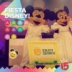 Llegó el día de la super fiesta!! #Enjoy15 te da las fiestas más lindas de todo #WaltDisneyWorld! Únicas y exclusivas!  #fucsiaJ16 #coralJ16 #turquesaJ16 #purpuraJ16 #esmeraldaJ16 #rosaJ16 #doradoJ16 #rojoJ16 #verdeJ16 Más Disney más diversión!