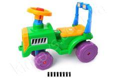 Бебі Трактор-931 (О), детские магазины в киеве, развивающие игрушки для детей 1 года, куклы ненуко, игрушки для купания, игрушки для малышей до года, корзина для игрушек