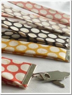 no sew diy key fobs