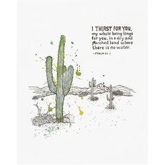 Cactus print, succulent print, prints wall art, cactus