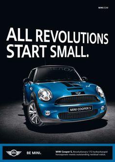 R56 Lori Mini Cooper Ads