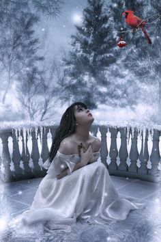 ✯ Winter Romance .. By *ArtbyValerie*✯