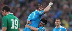 Rugby, l'Italia scrive la storia contro l'Irlanda - Corriere.it