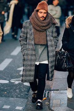 Street looks from Paris Menswear Week Fall/Winter 2016-2017