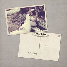 Vintage Wedding Thank You by NostalgicImprints. $72.00 USD, via Etsy.