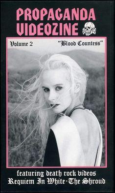 Propaganda Videozine Volume 2: Blood Countess (1992) Einstein, Blood, Death, Movies, Movie Posters, Blessing, Musik, Films, Film Poster