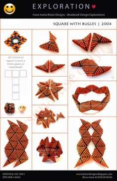 Eva Maria Keiser Designs: Keiser Designs Tutorials  Has pattern for Christmas star
