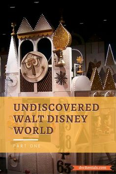 This blog post is all about things at Walt Disney World that you might not be aware of.