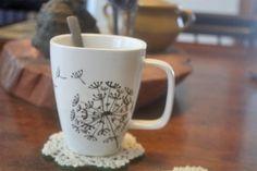 DIY Cancer Awareness Crafts | DIY Doily Coasters : Factory Direct Craft Blog   love this idea for the coffee mug