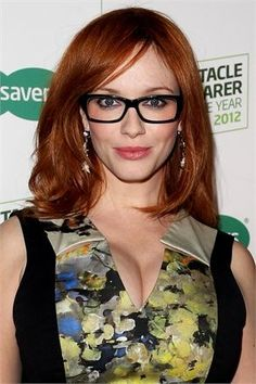 #ChristinaHendricks #MakeUp ideas for #Glasses – Beauty Works London
