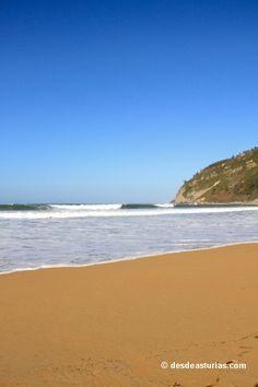 Playa de Rodiles Villaviciosa. Playas de Asturias [Más info] http://www.desdeasturias.com/la-playa-de-rodiles/