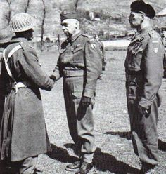 Gen. Sosnkowski, here meeting with the 3rd Carpathian Rifles, replaced Gen. Sikorski as overall commander of the Polish forces following his Sikorski's death. In a somewhat symbolic gesture, Sosnkowski would be replaced in the middle of the Warsaw...pin by Paolo Marzioli