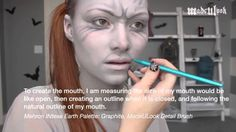Request: Weeping Angel Makeup Tutorial