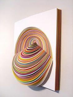 Pretty - handcut paper art