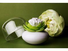 Lotosový květ - stojánek na vatové tyčinky