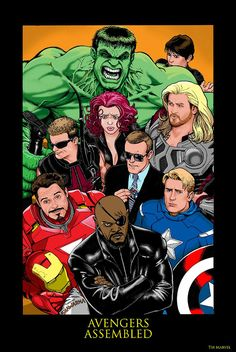 Avengers by Kevin Maguire