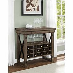 Wildwood Rustic Grey Entryway Hall Tree with Storage Bench