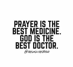 There is no sickness, disease, diagnosis, injury, or pain that God cannot heal. Never give up praying for healing because our Jesus is better than any doctor this world has to offer and sometimes a miracle and a healing is just one prayer away.