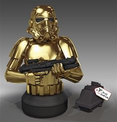 Star Wars 10 Year Commemorative Holiday Bust by Gentle Giant