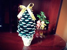 Árvore de  Natal de pinha