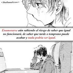 Enamorarse #ShuOumaGcrow #Anime #Frases_anime #frases