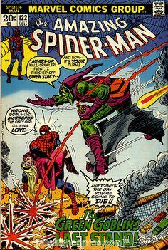 Amazing Spider-Man 122 Death of Gwen Stacy.