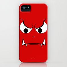 Evil Face iPhone Case by Sberla - $35.00