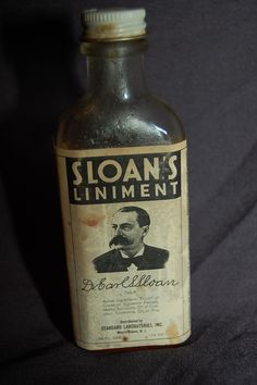 Old medicine bottles- extract of cayenne , turpentine, oil of camphor and oil of pine .