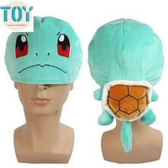 "Find More Movies & TV Information about New Pokemon Squirtle Rare Cosplay Cap Soft Plush Turtle Hat Anime Manga Kid Gift 10"" Brinquedos Toy Juguetes,High Quality toy circle,China toy clothing Suppliers, Cheap toy bathroom from Toys in the Kingdom on Aliexpress.com"