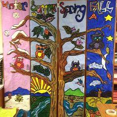 6th grade murals complete!
