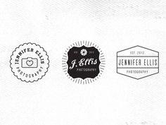 Jennifer Ellis Photography logo ideas - vintage!